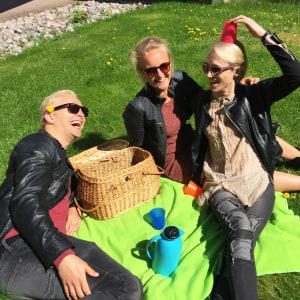 Janne Grönroos, Fredrika Lindholm, Christoffer Strandberg