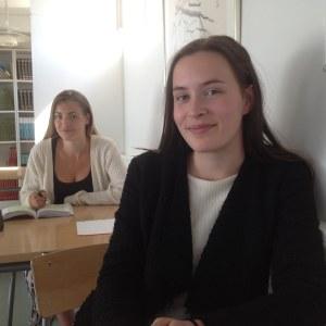 Ellen Hägerström och Linda Björkenheim