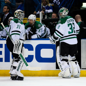 Antti Niemi och Kari Lehtonen spelar i NHL-klubben Dallas Stars.