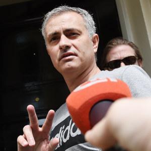 José Mourinho är Manchester Uniteds man.
