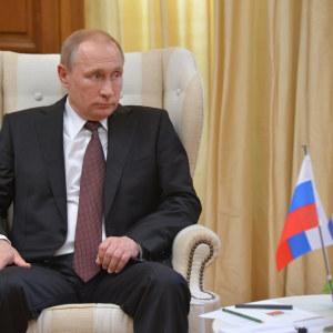 Putin på besök i Aten