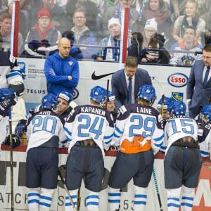 Sebastian Aho, Kasperi Kapanen, Patrik Laine, Mikko Rantanen och Vili Saarijärvi spelade vann guld i junior-VM i Helsingfors 2016.