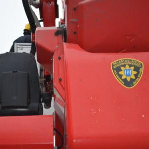 Skylift från Östra Nylands räddningsverk.