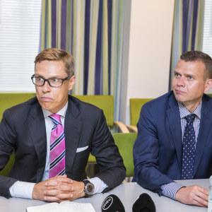 Alexander Stubb och Petteri Orpo