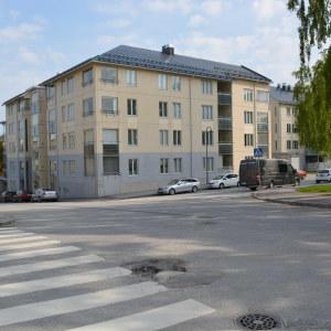 Himmelsbergsgatan på Kvarnbacken