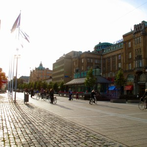 Cykeltrafik i Vasa.