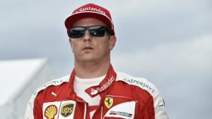 Kimi Räikkönen, oktober 2015.