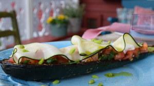 Grillad zucchini