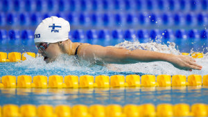 Emilia Pikkarainen satte finländskt rekord.