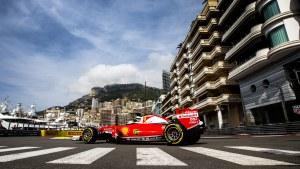 Ferrari-föraren Sebastian Vettel hade ingen lyckad torsdag i Monaco.