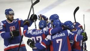 Slovakien i segern över Vitryssland i ishockey-VM 2012