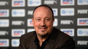 Rafael Benitez fortsätter i Newcastle.