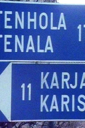 Vägskylt, 1987