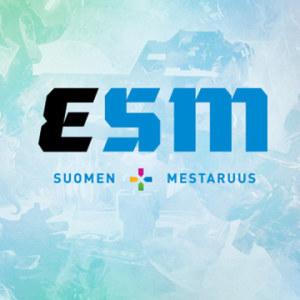 eSM Suomen mestaruus -logokuva.