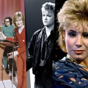 Frederik, Riki Sorsa, Kari Kuivalainen ja Sonja Lumme 1980-luvulla Suomen euroviisukarsinnoissa