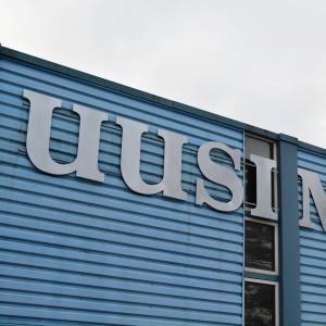 Tidningen Uusimaas redaktion i Borgå.