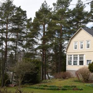 Iris Hagerts hus på Vårdö i Helsingfors.