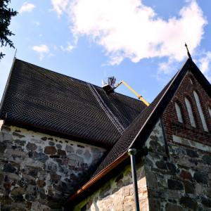 Sibbo gamla kyrka tjäras