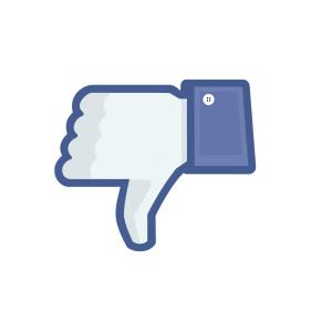 Photoshoppad bild på Facebook-tummen.