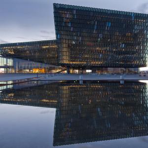 Konferenscentret Harpa i Reykjavik