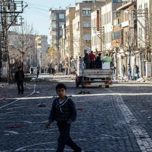 Diyarbakir i Turkiet.