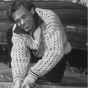Benny Törnroos med båt
