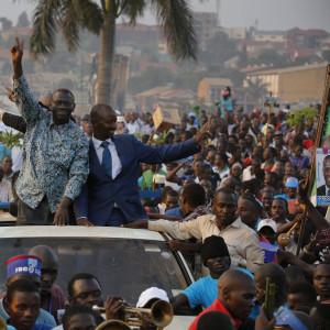oppositionskandidaten kizza besigye i uganda