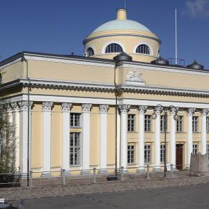 Nationalbiblioteket i Helsingfors.