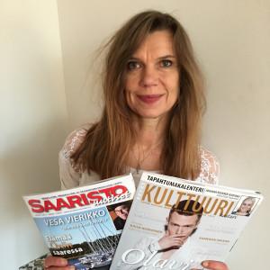 Annika Selänniemi är redaktionschef på Kulttuurihaitari