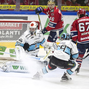 HIFK:s skickliga anfallare har haft svårt att överlista Pelicansmålvakten Niko Hovinen.