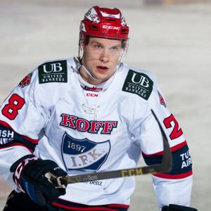 Jasse Ikonen blev hjälte när HIFK säkrade sin semifinalplats.
