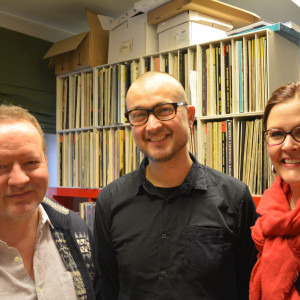 Krister Uggeldahl, Anders Grönroos och Pia Lindén-Lamoureux