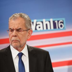 Alexander van der Bellen och Norbert Hofer, presidentvalskandidater i Österrike