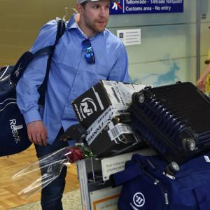 Leo Komarov återvänder till Finland efter VM-finalförlusten mot Kanada.