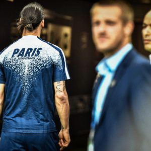 Zlatan Ibrahimovic efter cupfinalen mot Marseille.