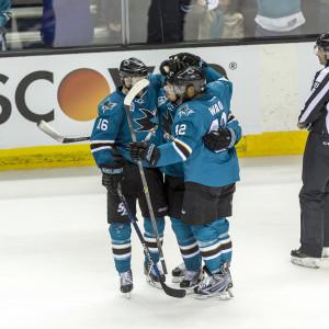 San Jose Sharks avgjorde i sjätte semifinalen mot St. Louis.