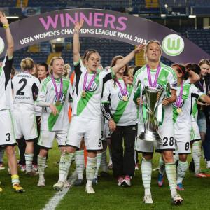 Wolfsburg vann Champions League 2013.