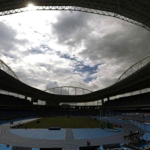 Olympiastadion i Rio de Janeiro.
