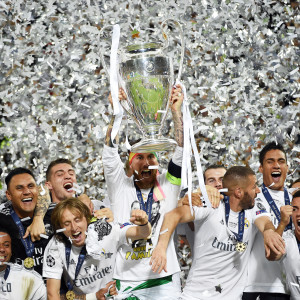 Real Madrid vann Champions League säsongen 2015-2016.