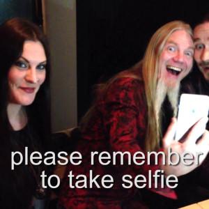 Floor Jansen, Tuomas Holopainen, Marco Hietala (2015)