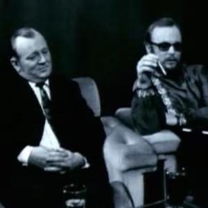 Viikonlooputelevisiossa puhuttiin viinasta ja juotiin samalla viinaa (1972).