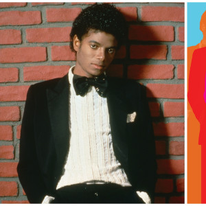 Kuva ja juliste Spike Leen dokumenttielokuvasta Michael Jackson ja Off the Wall (2016).