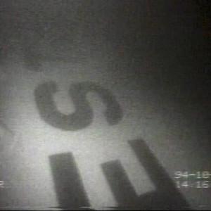 TV-kuvaa Estonian hylyltä tv-uutisissa