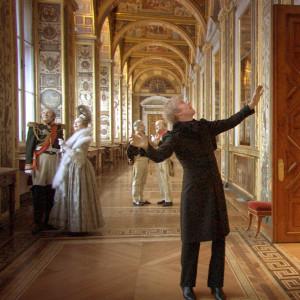Kuva Aleksandr Sokurovin elokuvasta Venäjän arkki