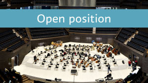 Open position