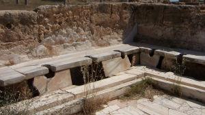 Roomalainen rivikäymälä