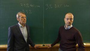 PT:n Eero Lehto (vas.) ja Etlan Niku Määttänen.