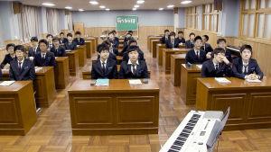 Korealaisia musiikkioppilaita