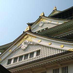Osakan linnan kattokerroksia