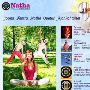 Natha-skolans webbplats.